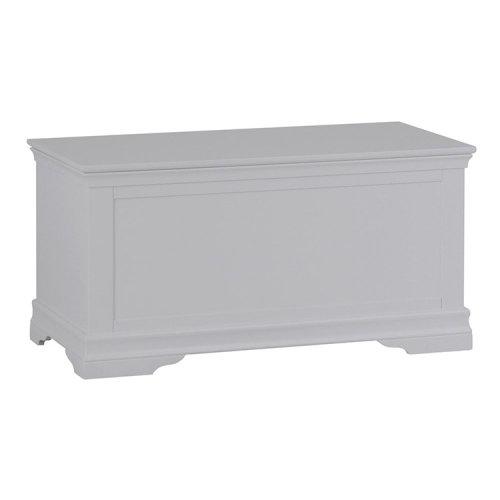 Maison Grey Painted Furniture Blanket Box