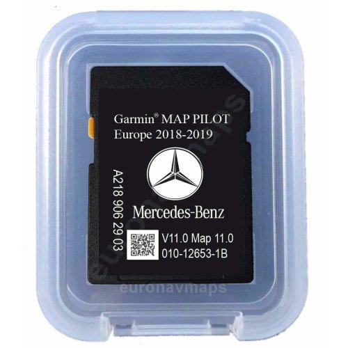 Mercedes-Benz SD Card Garmin Map Pilot 2018/2019
