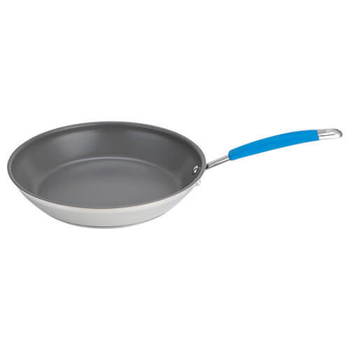 Joe Wicks Quick & Even Stainless Steel 28cm Non-Stick Frypan
