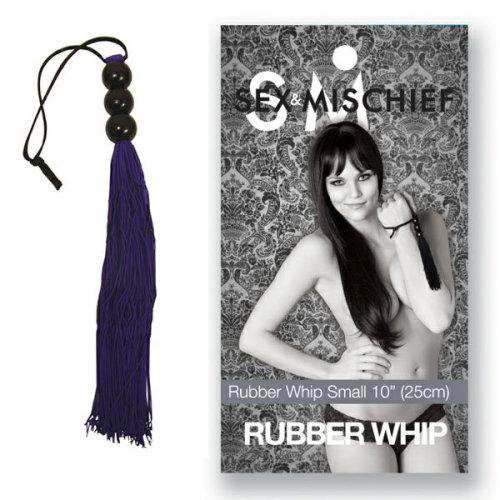 Sex And Mischief Medium Rubber Whip