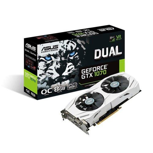 Asus 8Gb NVIDIA GeForce GTX 1070 Dual OC PCi-e3.0 VGA Card