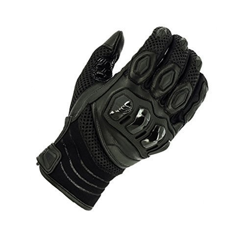 Richa Turbo Black Summer Motorcycle Gloves