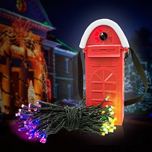 Morpilot LED Multi-color String Lights Powered by Salt Water Sea Water Energy - 22M + 200 LED + 4 Colors (Red Green Yellow Blue), Waterproof ECO...