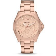 Fossil (Open Box) Cecile Multifunction Rose Gold-Tone Ladies Watch AM4511