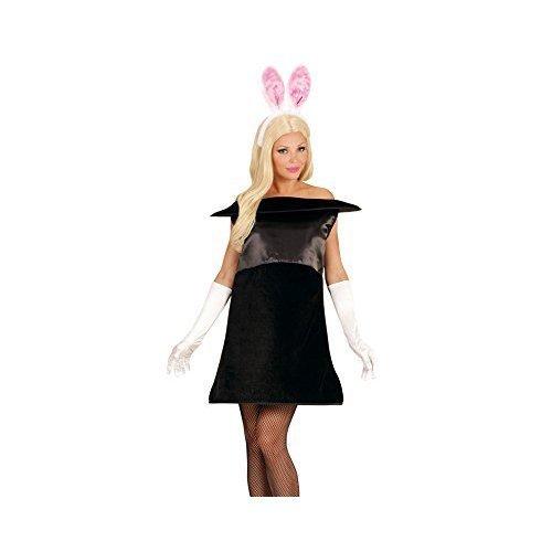 Widmann 02878 adults Magic Rabbit Costume Dress u0026 Ears Black Size S/m - Bunny - magic bunny rabbit hat magician ladies fancy dress costume 818  sc 1 st  OnBuy & Widmann 02878 adults Magic Rabbit Costume Dress u0026 Ears Black Size ...