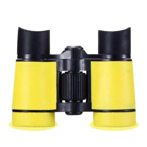 Kids Binoculars Telescope Travel Mini Toys Of Binoculars Binoculars Yellow Black