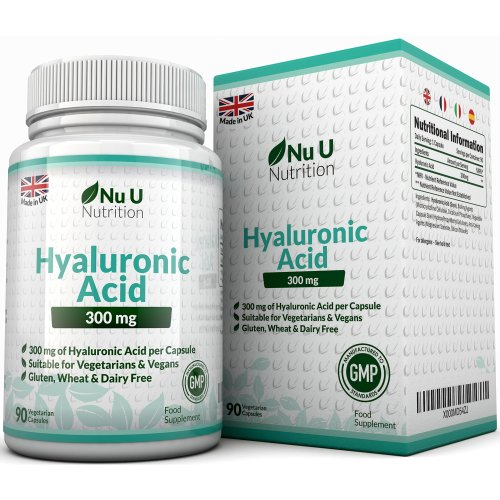 Hyaluronic Acid 300mg – 90 Capsules (3 Month Supply)