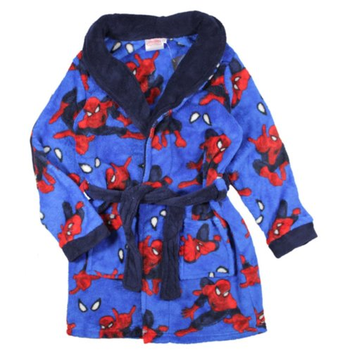 Spiderman Dressing Gown - Blue