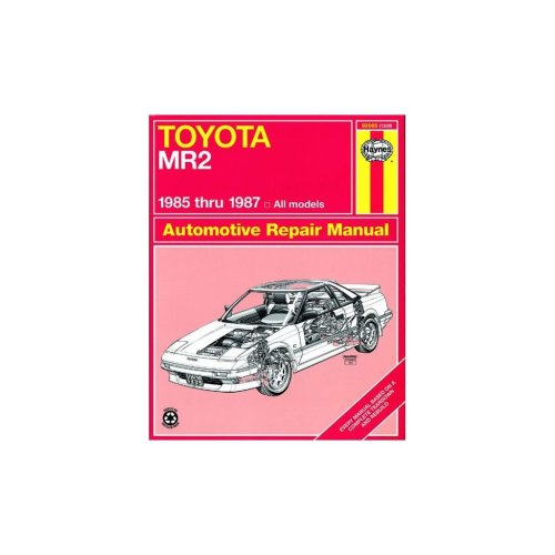 Toyota MR2 (1985-1987) - Car Manual