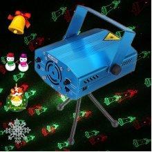 6 in 1 Projector R&G DJ Disco Light Stage Lighting