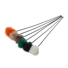 4 Sets, Cat Toy Fake Artificial Fur Ball Mouse Funny Cat Stick Lever, Plush Ball
