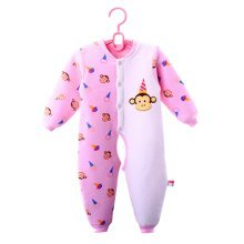 Baby Suit Clothing Long-Sleeved Cotton Baby Crawl Sports Open Fork Cotton D