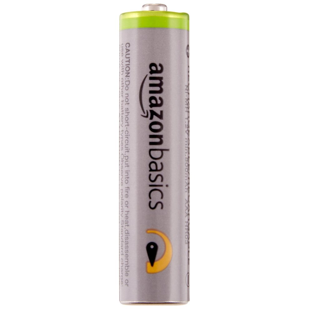 AmazonBasics High Capacity AAA Pre-Charged Rechargeable Batteries