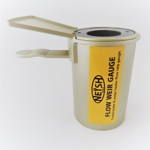 Neish Tools Flow Cup Measure 2-22Ltrs /1/2-5Gls
