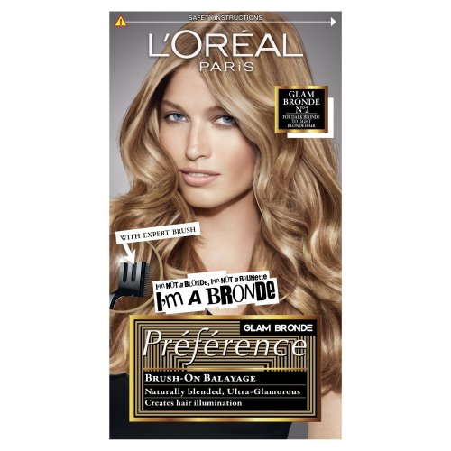L'Oréal Preference Glam Highlights 02 Hair Dye For Blonde Hair