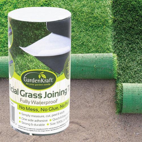Artificial Garden Grass Joining Tape 5m x 15cm Dark Green