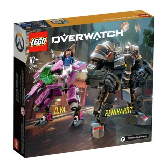 LEGO Overwatch D.Va vs Reinhardt Birthday & Christmas gift