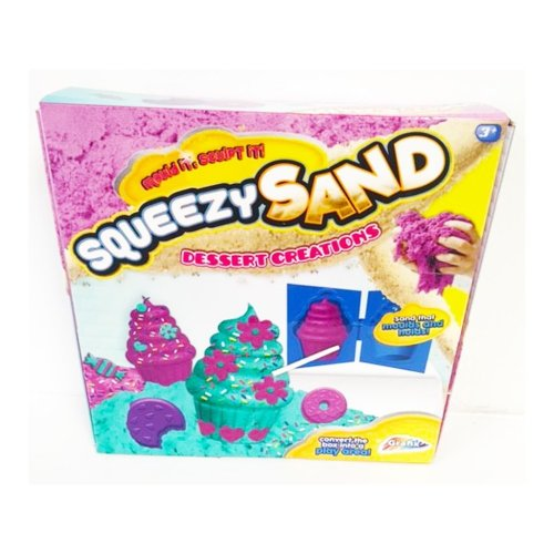 Squeezy Sand Cupcakes Modelling Set