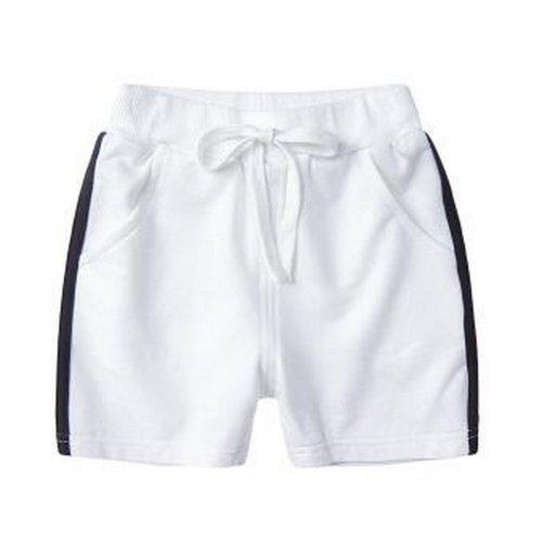 Baby Boy Short Pants Cute Short Pants for Summer Suitable for 120cm [A]