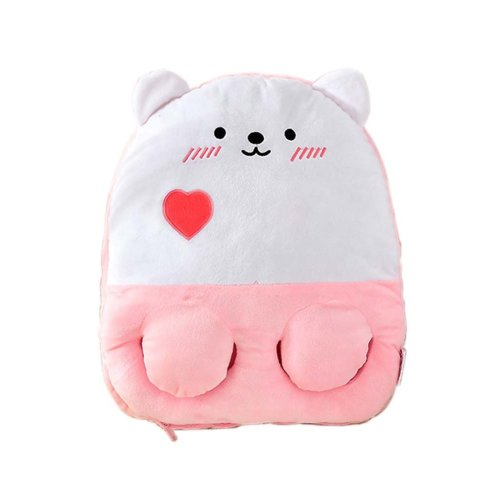 [Lovely Bear] USB Foot Warmer Heating Pad Slippers Washable For Home/Office Warm Feet Treasure