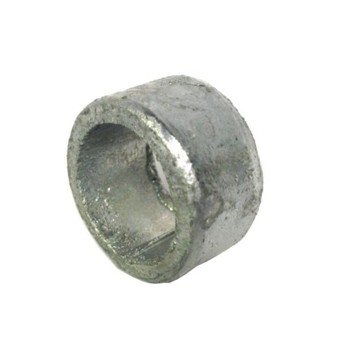 Non threaded spacer / washer 26 mm ID 38 mm length - Galvanised Mild Steel