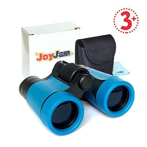 Toys For 3 5 Year Old Boys JoyJam Shock Proof Kids Binoculars Telescope Bird Watching Hunting And Hiking Christmas Birthday Gifts Blue On