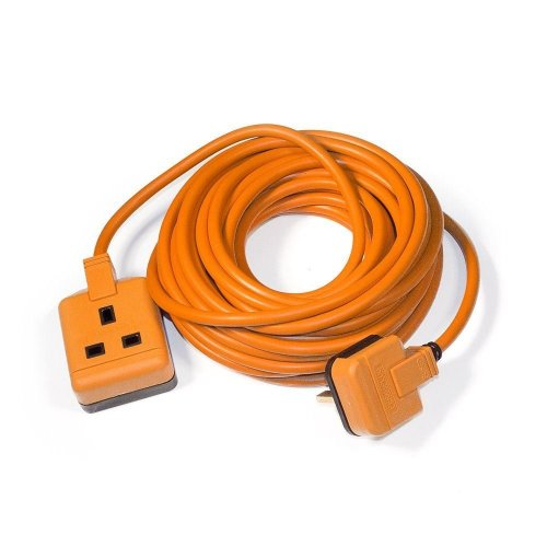 Masterplug 13 Amp Heavy Duty 10m Electrical Extension Lead 1-Gang