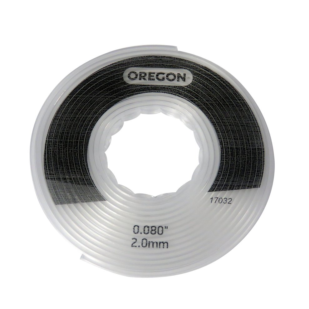 Oregon 24-280-03 2 0 mm x 4 32 m Small Gator SpeedLoad Replacement Trimmer  Line Disc - White (Pack of 3)