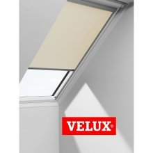 VELUX Blackout Blinds Easy Fit Quality Roof Window Roller in White 1025