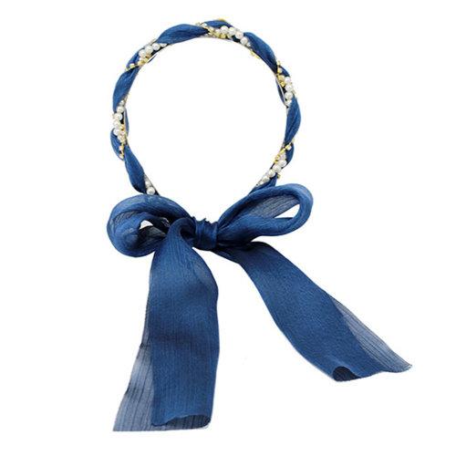 Sweet Girl Hair Ribbon Headband Headdress Hair Accessories [F]
