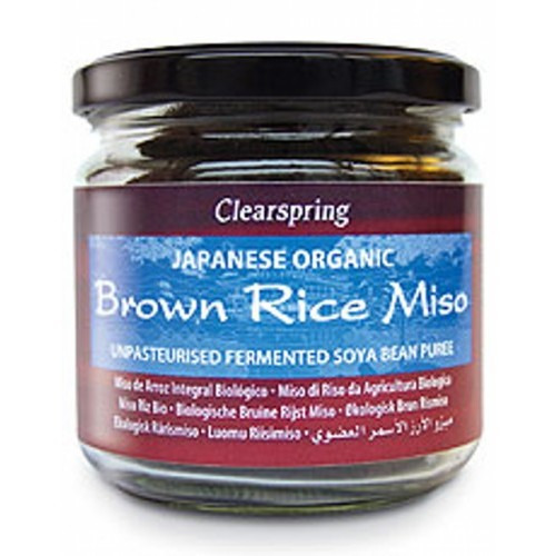 Clearspring Organic Brown Rice Miso Jar (up) 300g