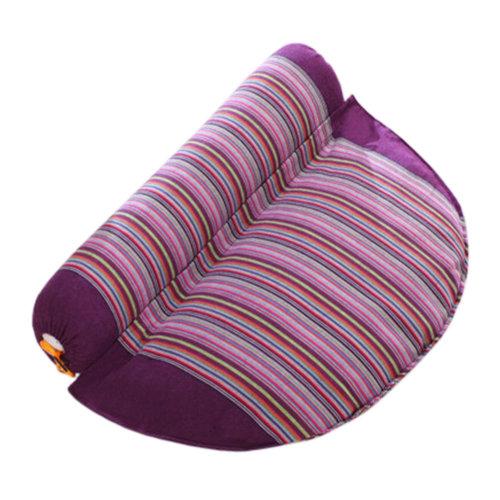 Health Cervical Pillow Comfortable Neck Roll Pillow Neck Support Pillow Purple