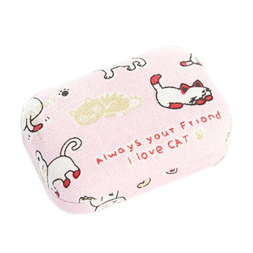 Contact Lens Carrying Case Kit/ Stylish Case with Holder & Mirror  G