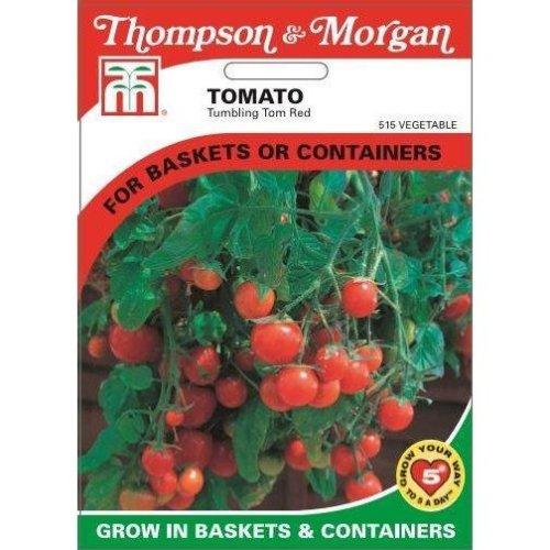 Thompson & Morgan - Vegetables - Tomato Tumbling Tom Red - 15 Seed
