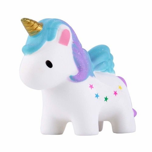 Anboor Squishies Unicorn Colored Star Squishy Slow Rising Toys Kawaii Scented