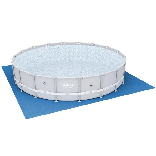 Bestway Pool Ground Cloth - 19 feet, Blue