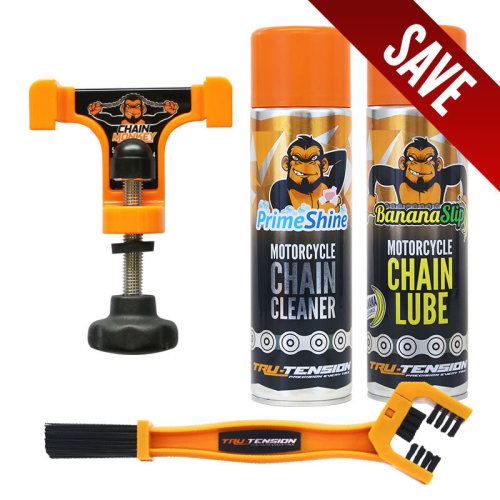 Tru-Tension bundle - Chain monkey, lube, cleaner and brush