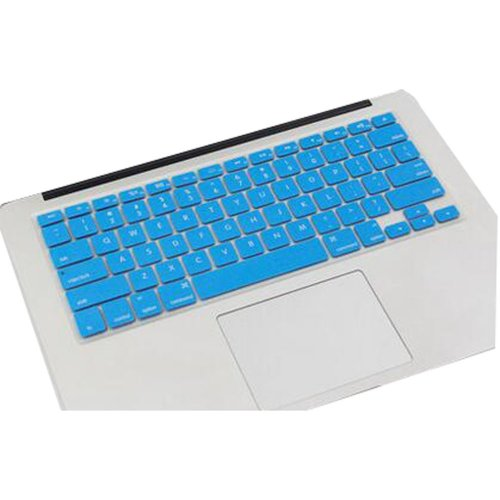 Keyboard Decal Macbook Keyboard Stickers Skin Logos Cover Blue