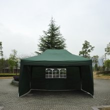 Outsunny 3m X 4.5m Garden  Pop Up Gazebo