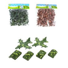 Toy Soldiers Army Men Action Figure Models Toy Gifts/Toy Trucks/Toy Tanks-200PCS