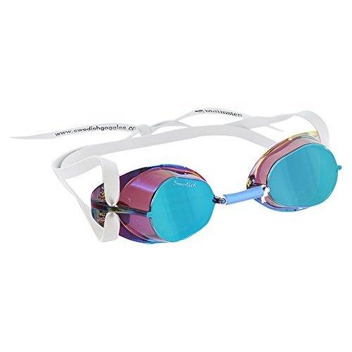 Malmsten Unisex's Swedish Goggles Metallic, Oily