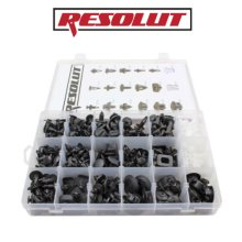 RESOLUT Nissan Assorted Trim Clips 408 Pieces 9036
