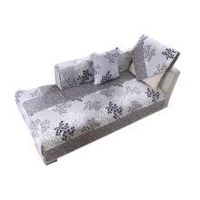 Pastorable Floral Sofa Slipcovers Cushion 90x240cm [Grey Ginkgo]