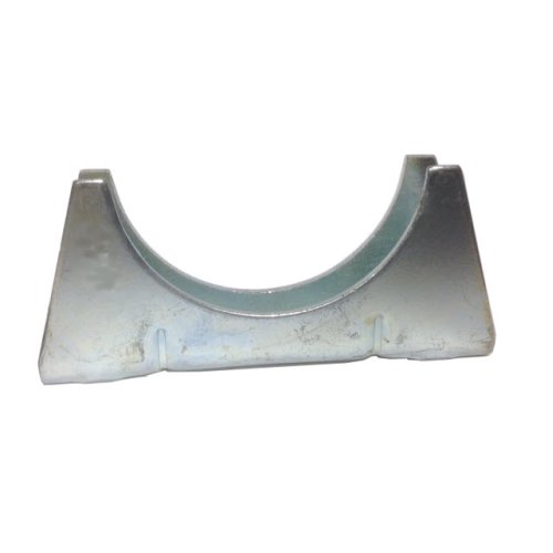 Universal Exhaust pipe cradle 45 mm pipe - Zinc Plated Mild Steel