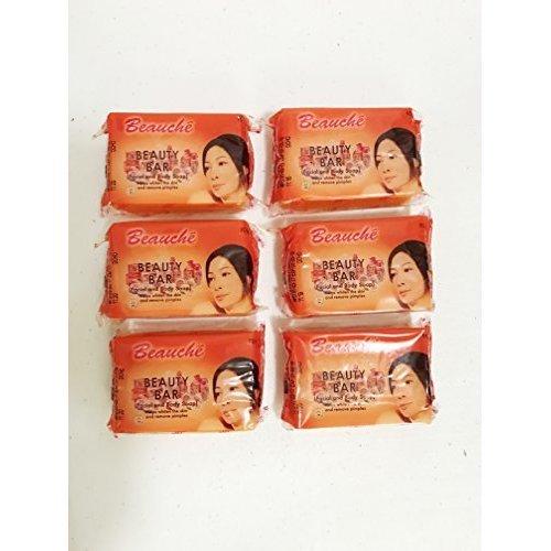 6 Pack Beauche Kojic Beauty Soap Bar90Grams