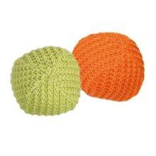 Knitted Balls, Ø 4.5 Cm, 2 Pcs. - Balls Trixie Fluffy Toy Catnip Pet Kitten 45 -  2 knitted balls trixie fluffy toy catnip pet kitten 45 cm diameter