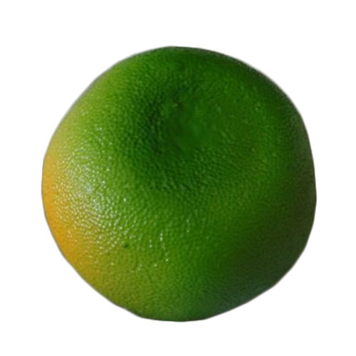 Set Of 2 Plastic Fruits Home Party Decor Artificial Fruits, Green Tangerine