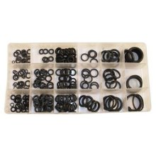 Toolzone Rubber O Rings 225pc Tap Seal Plumbing Washer Set Metric Assorted