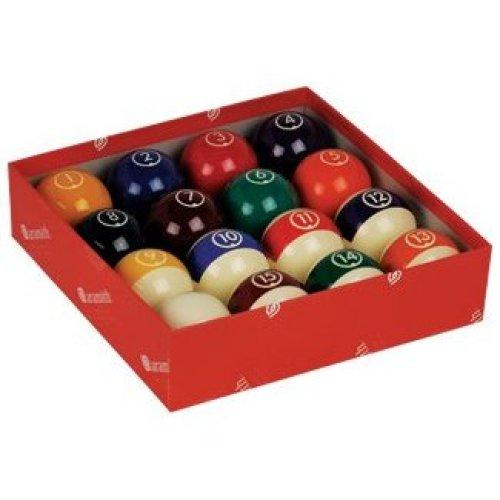 Aramith Continental 2 1 4 Billiard Regulation Pool Ball Set 16 Balls