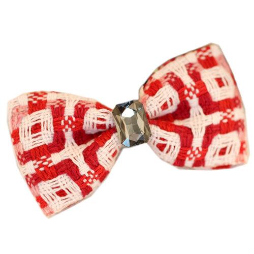 Cute Red Bow Hair Claw Fashion Hair Clip Creative Hair Claw/Hairpin